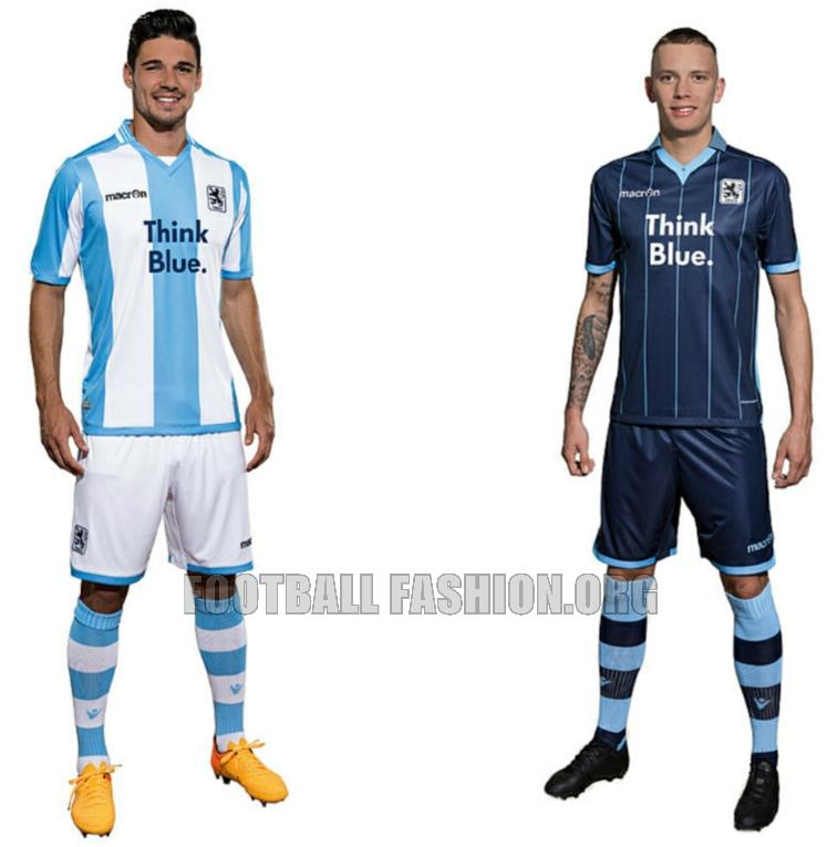 TSV 1860 München 2015 16 Macron Home and Away Kits – FOOTBALL ... 5bff652b4046e