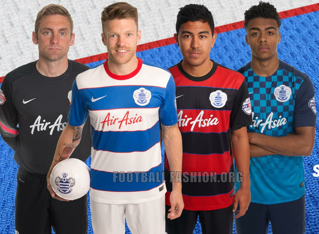 finest selection cfaa4 f0823 Queens Park Rangers 2015/16 Nike Home, Away and Third Kits ...