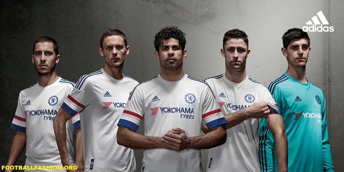 promo code 1c140 e7678 Chelsea FC 2015/16 adidas Away Kit - FOOTBALL FASHION.ORG