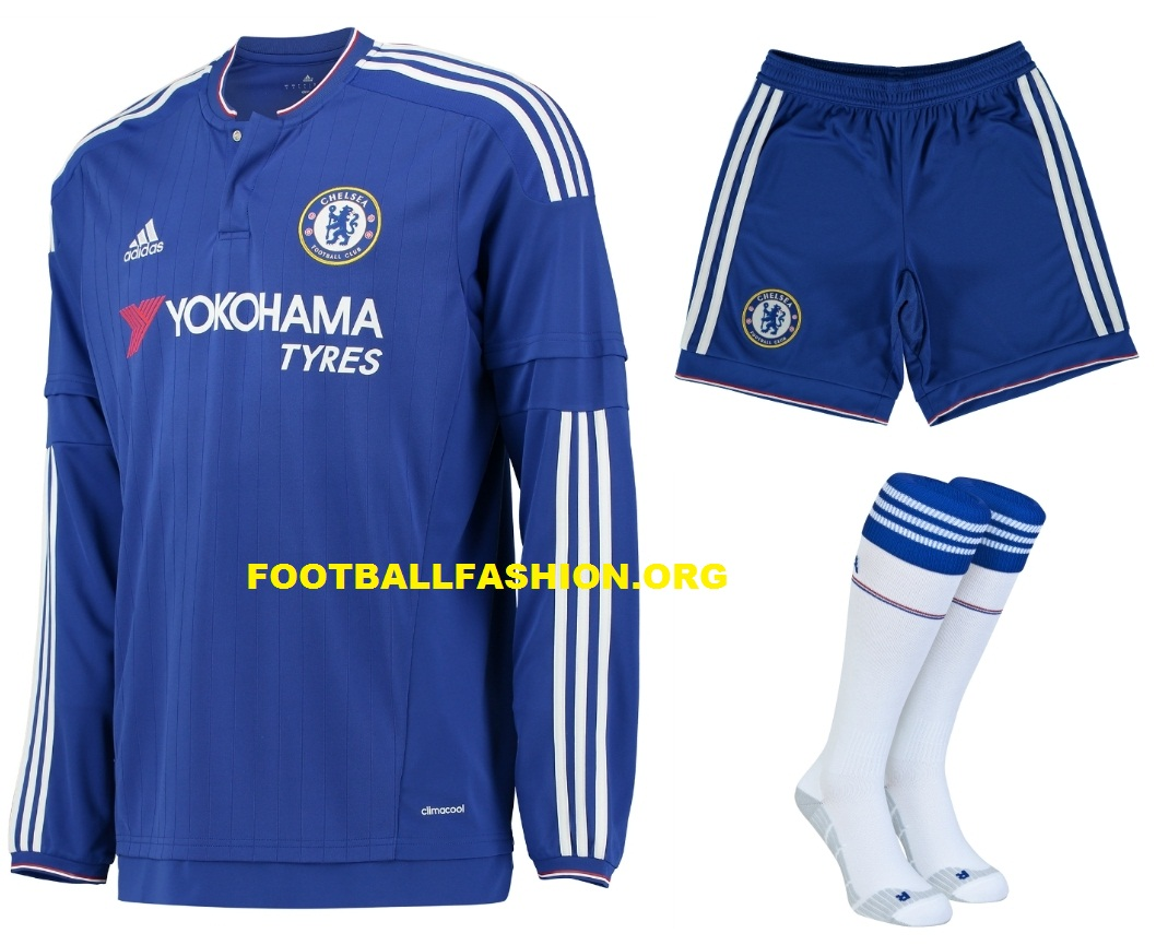 adidas and Chelsea FC Present 2015/16 Home Kit - FOOTBALL FASHION