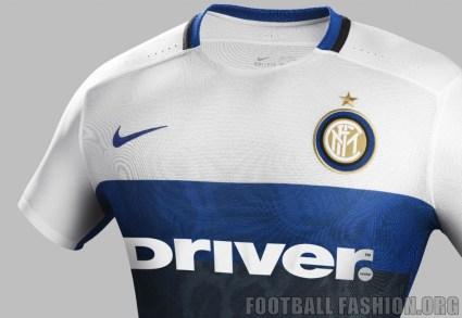 Inter Milan 2015 2016 Nike White Away Soccer Jersey, Football Kit, Shirt, Maglia, Gara