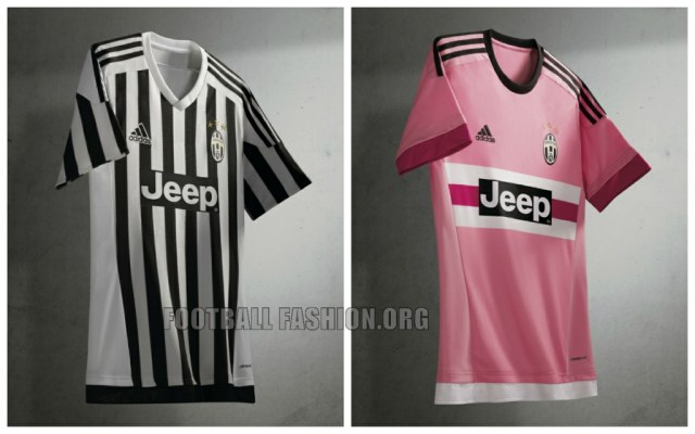 Juventus 2015 2016 adidas Home and Away Soccer Jersey, Football Kit, Shirt, Maglia, Gara, Camiseta