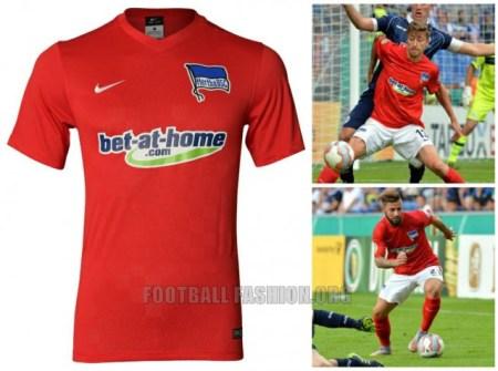 Hertha Berlin 2015 2016 Nike Home, Away and Third Football Kit, Soccer Jersey, Trikot, Shirt
