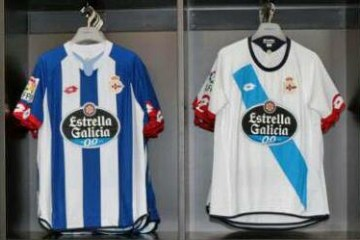 Deportivo de La Coruña 2015 20/16 Lotto Home, Away and Third Football Kit, Soccer Jersey, Shirt, Camiseta de Futbol, Equipacion