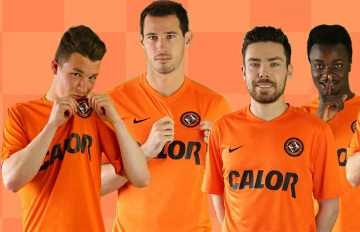 Dundee United Football Club 2015 2016 Nike Home and Away Kit, Shirt, Soccer Jersey