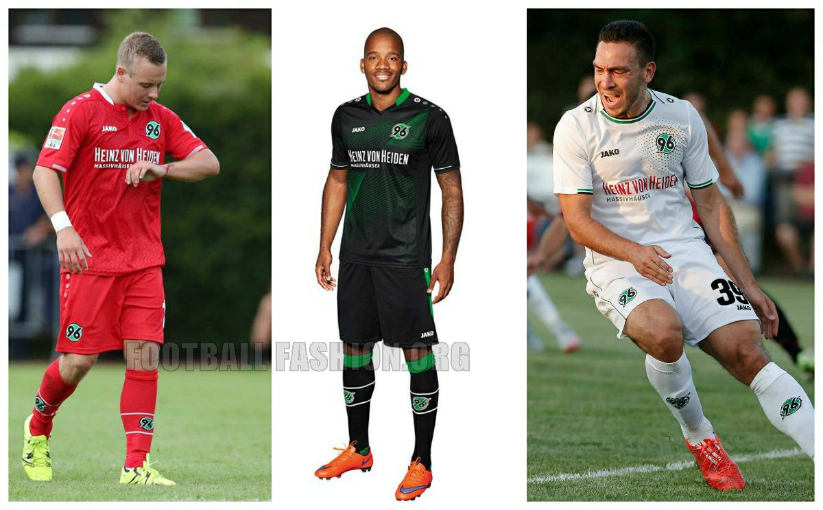hannover 96 jako 2015 16 home away and third kits. Black Bedroom Furniture Sets. Home Design Ideas
