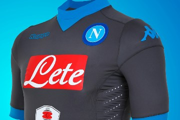 SSC Napoli 2015 2016 Kappa Away Football Kit, Soccer Jersey, Shirt, Gara, Maglia, Camiseta