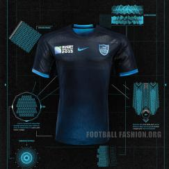Argentina Rugby Nike Rugby World Cup 2015 Jersey, Shirt, Kit, Camiseta, Equipacion
