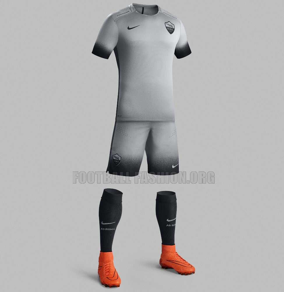 AS Roma 2015 16 Nike Third Kit – FOOTBALL FASHION.ORG c7e997072