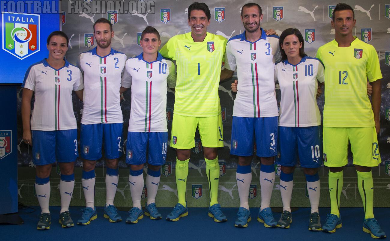 FIGC & PUMA Present the Italy 2015/16 Away Kit – FOOTBALL ...