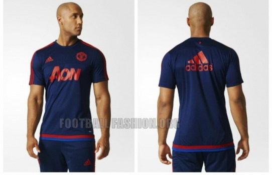 Manchester United 2015 2016 adidas Training Soccer Jerseys, Shirts, Football Kits, Camiseta de Futbol