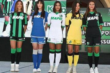 Sassuolo Calcio 2015 2016 Kappa Home and Away Football Kit, Soccer Jersey, Shirt, Maglia, Gara, Camiseta