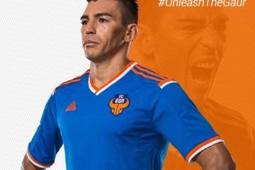 FC Goa 2015 2016 adidas Home Football Kit, Soccer Jersey, Shirt, Camisa