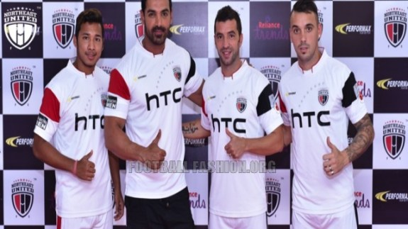 NorthEast United FC 2015 2016 Home and Away Football Kit, Soccer Jersey, Shirt