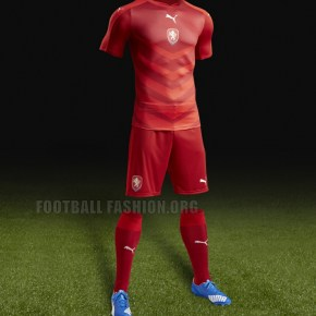 Czech Republic EURO 2016 Red Home Football Kit, Soccer Jersey, Shirt, nové dresy pro Euro 2016