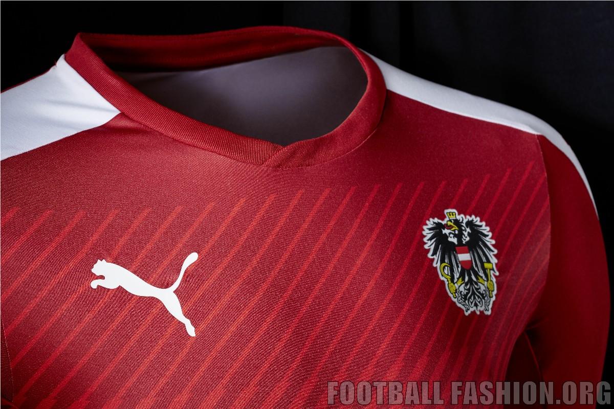 Austria EURO 2016 PUMA Home Kit – FOOTBALL FASHION.ORG c20090a06