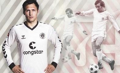FC St. Pauli 2015 2016 hummel Retro Weihnachtstrikot, Soccer Jersey, Football Kit, Shirt, Sondertrikot