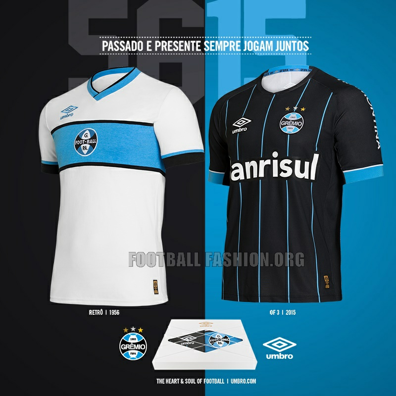 9806bb6b42 Grêmio 2016 Umbro Fourth and Retro Jerseys – FOOTBALL FASHION.ORG