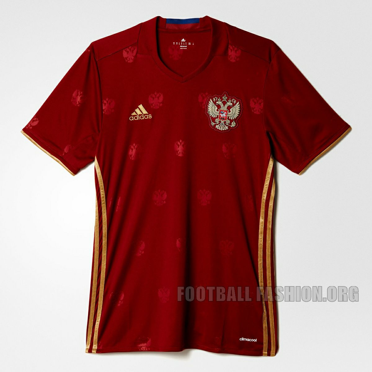 8eb91a52 adidas Russia Euro 2012 Home Soccer Jersey Brand New Red Men's Clothing  Activewear Tops