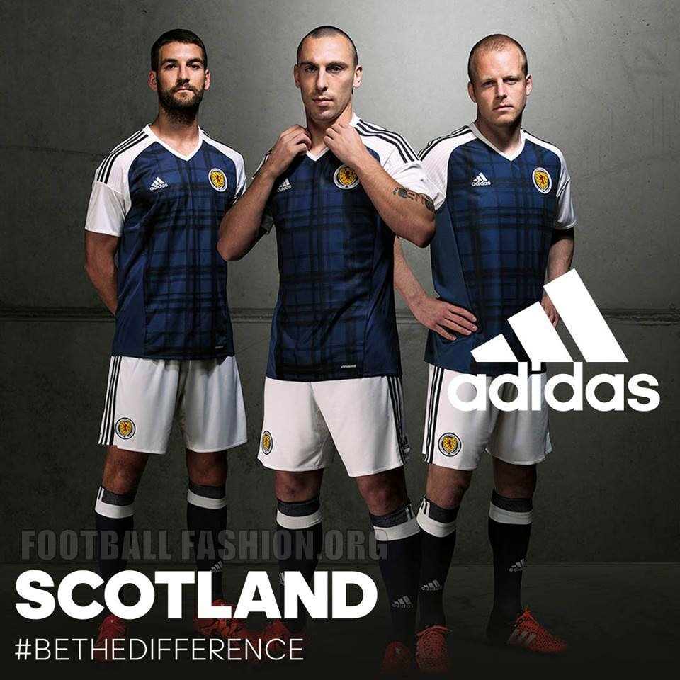 adidas scotland 2017 18 home shirt