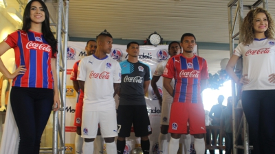CD Olimpia 2016 PUMA Home and Away Football Kit, Soccer Jersey, Shirt, Camiseta de Futbol, Equipacion