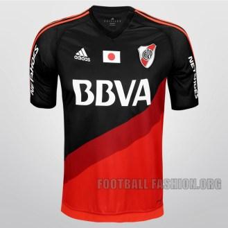River Plate 2015 FIFA World Club Cup adidas Soccer Jersey, Football Kit, Shirt, Camiseta Alternativa Copa Mundial Japon
