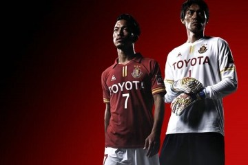 Nagoya Grampus 2016 le coq sportif Home Football Kit, Soccer Jersey, Shirt