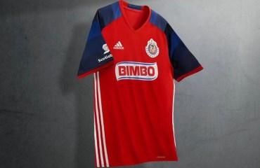 Chivas de Guadalajara 2016 adidas Third Soccer Jersey, Shirt, Football Kit, Camiseta de Futbol, Piel, Equipacion, Playera