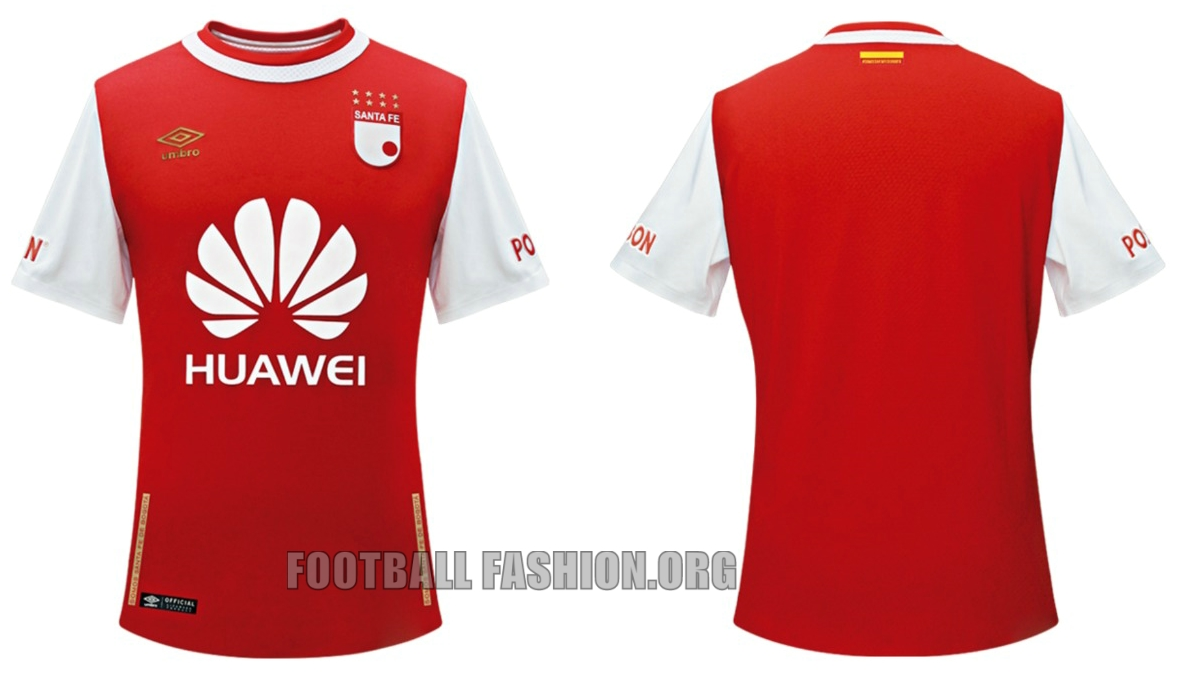 81dff1a38 Independiente Santa Fe 2016 Umbro Home and Away Kits – FOOTBALL ...