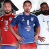 Johor Southern Tigers 2016 adidas Home, Away and Third Football Kit, Soccer Jersey, Shirt