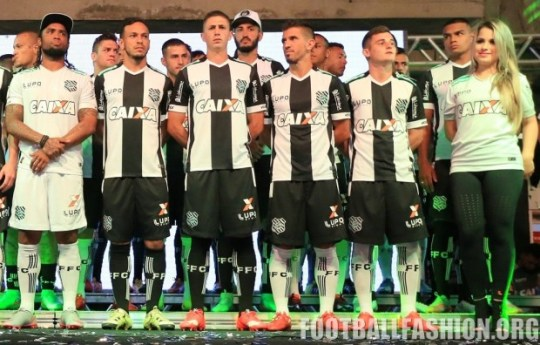 Figueirense 2016 Lupo Home and Away Football Kit, Soccer Jersey, Shirt, Camisa`