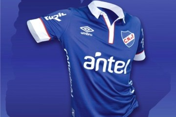 Club Nacional de Football 2015 2016 Third Umbro Kit, Soccer Jersey, Shirt, Camiseta, Equipacion