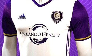 Orlando City SC 2016 adidas Away Soccer Jersey, Football Kit, Shirt, Camiseta de Futbol, Camisa