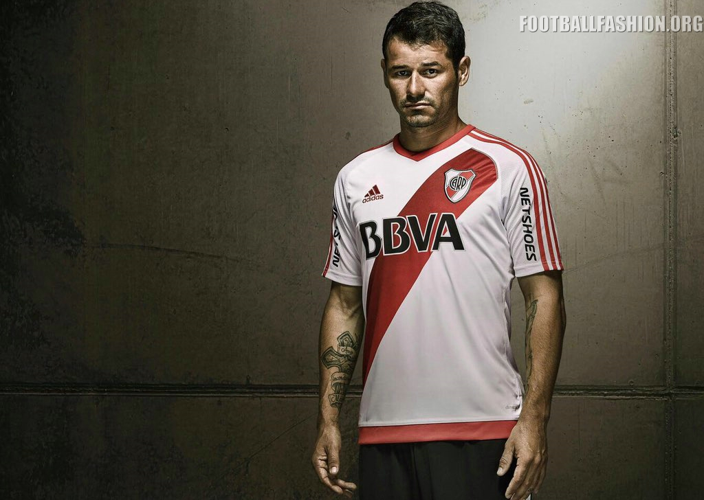 River Plate: River Plate 2016 Adidas Home Kit