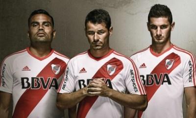 River Plate 2016 adidas Home Football Kit, Soccer Jersey, Shirt, Camiseta, Equipacion, Playera
