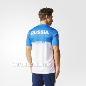 Russia EURO 2016 adidas Home and Away Pre-Match Football Kit, Soccer Jersey, Shirt