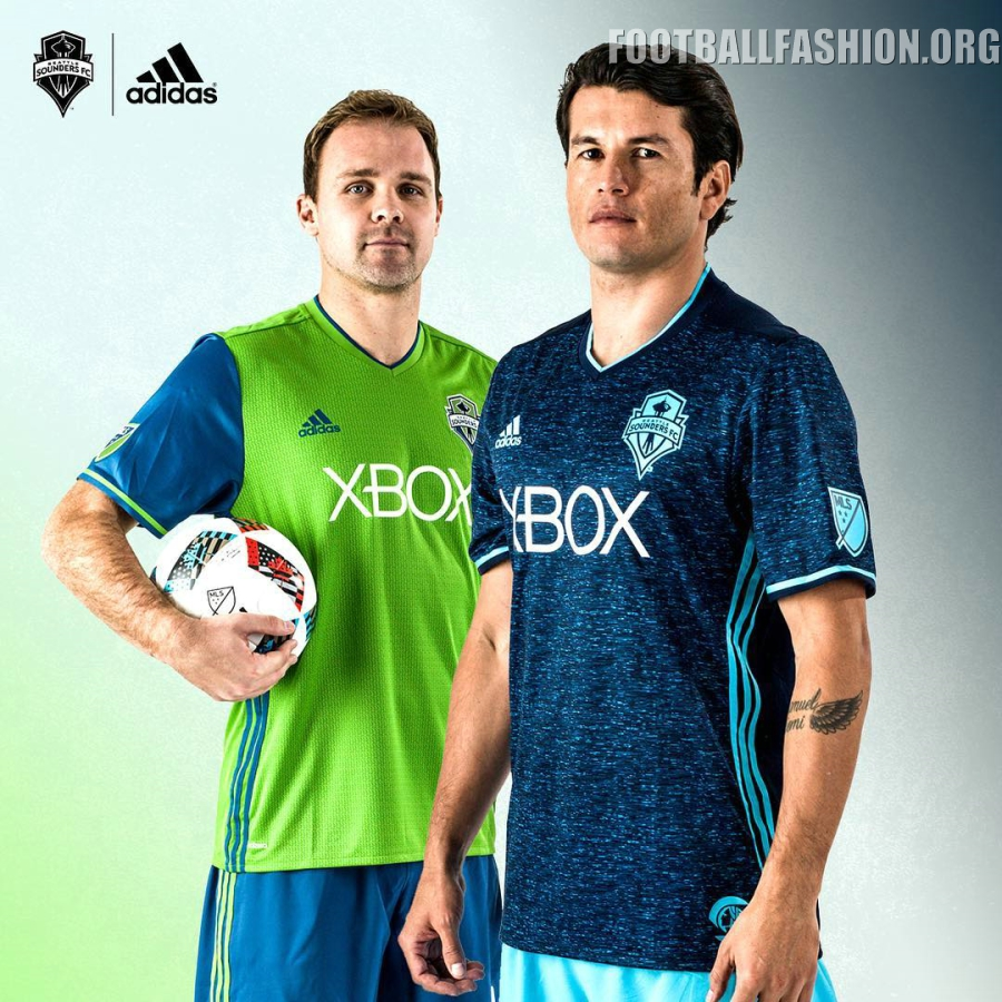lowest price d6065 fd9ff Seattle Sounders 2016 adidas Home and Third Jerseys ...