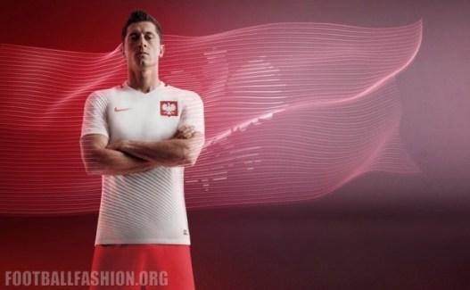 Poland EURO 2016 Nike Home and Away Football Kit, Soccer Jersey, Stroje Polski, Polska