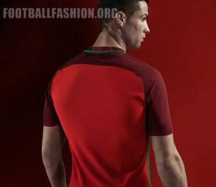 Portugal EURO 2016 Nike Home and Away Kits