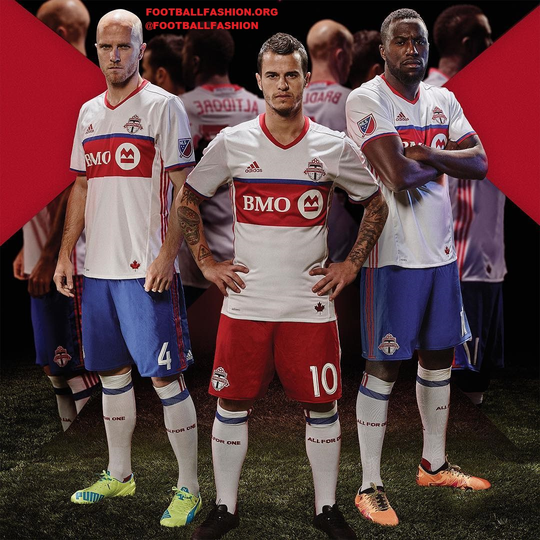 huge selection of d7403 a5915 Toronto FC 2016 adidas Away Jersey - FOOTBALL FASHION.ORG