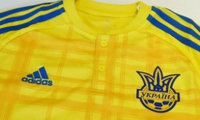 Ukraine EURO 2016 adidas Home Football Kit, Soccer Jersey, Shirt