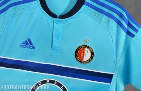 Feyenoord Rotterdam 2016 2017 adidas Away Football Kit, Soccer Jersey, Shirt, Uitshirt, Tenue