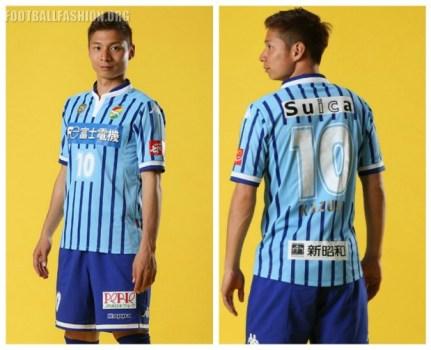 JEF United Ichihara Chiba 2016 25th Anniversary Kappa Football Kit, Soccer Jersey, Shirt