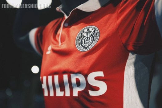 PSV Eindhoven 2016 Umbro Heritage Football Kit, Soccer Jersey, Shirt, Tenue