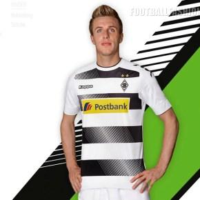Borussia Mönchengladbach's 2016/17 Kappa Home Kit