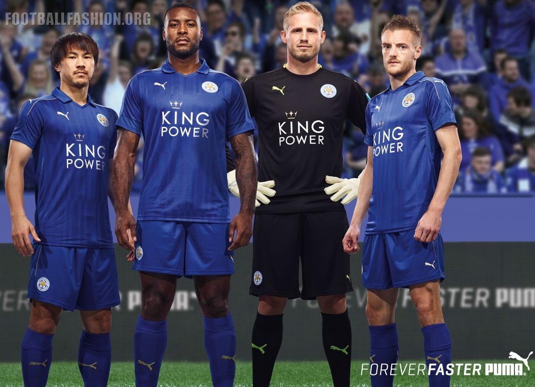 6811104a8bbf2 Premier League Champions Leicester City FC 2016 2017 PUMA Home Football  Kit