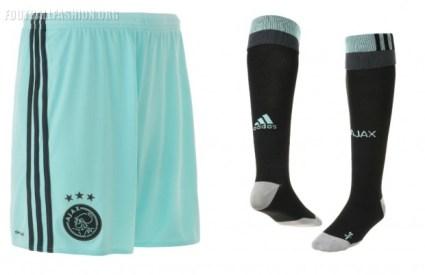 AFC Ajax 2016 2017 adidas Away Football Kit, Soccer Jersey, Shirt. Tenue, Uitshirt