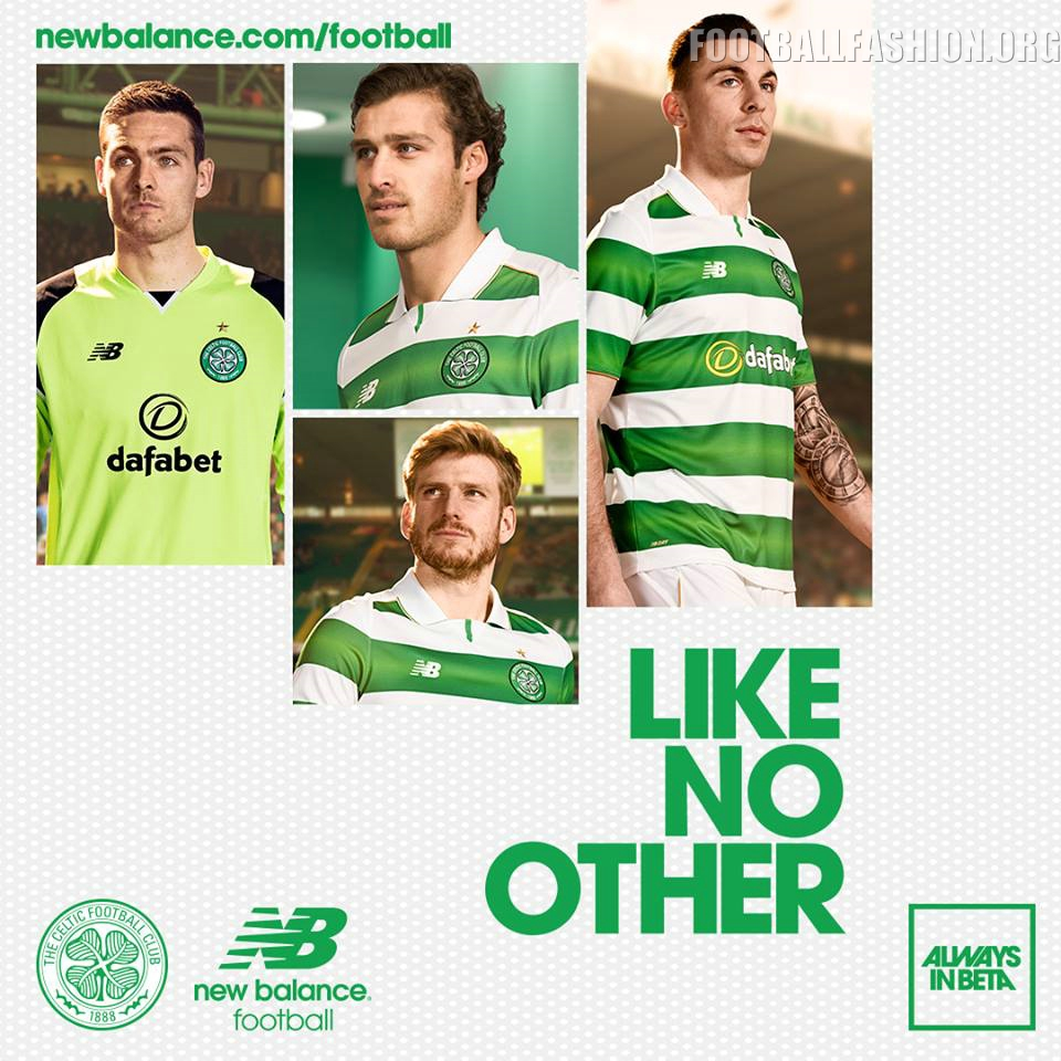 Celtic FC 2016 17 New Balance Home Kit – FOOTBALL FASHION.ORG 5798f512d