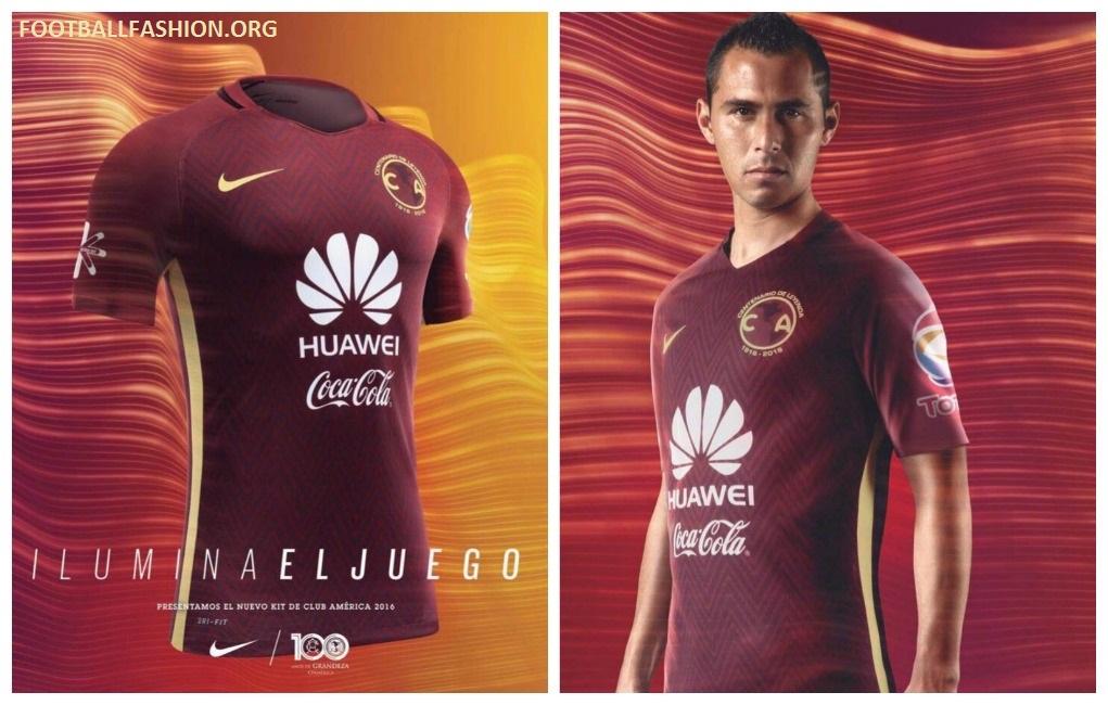 cd2b3b746e1 Club América 2016 17 Nike Away Jersey - Football Fashion