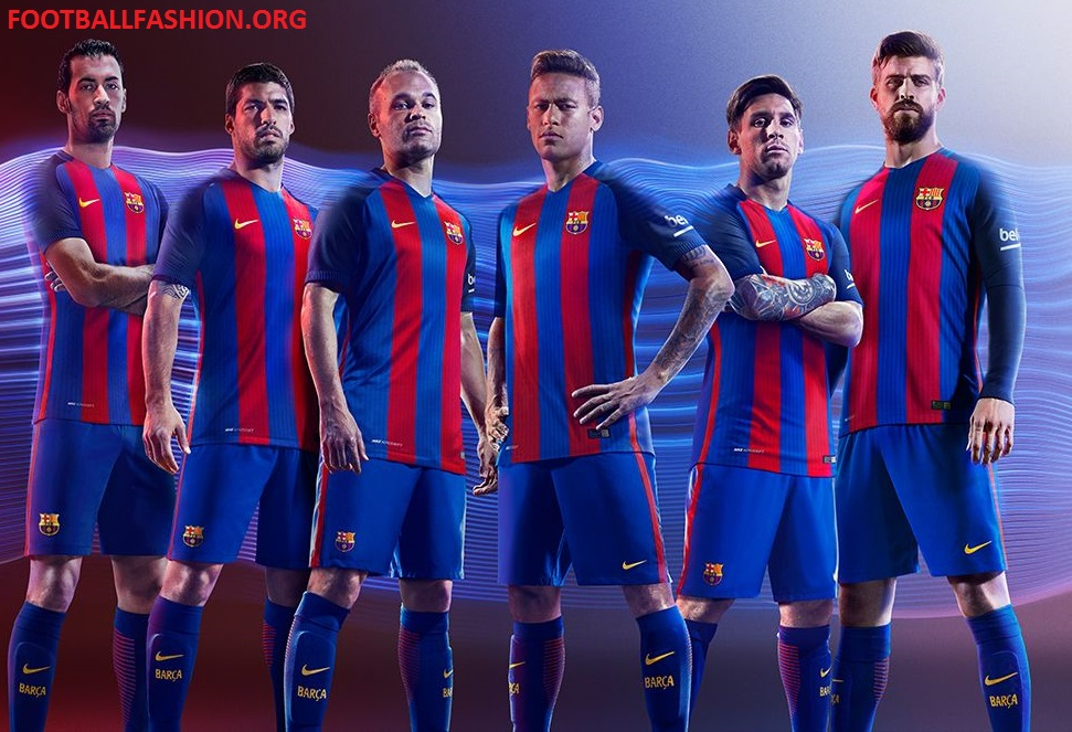 finest selection cca58 99c97 FC Barcelona 2016/17 Nike Home Kit - FOOTBALL FASHION.ORG